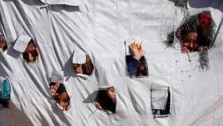 De fleste af IS-familierne befinder sig i al-Hol flygtningelejren i det nordøstlige Syrien.