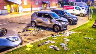 Natten til den 14. april var der en eksplosion i en bil i Mjølnerparken i København.