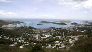Den tidligere danske ø Sankt Thomas er et blandt mange landområder, som USA har købt.
