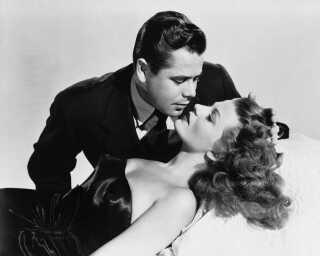 Glenn Ford og Rita Hayworth i filmen 'Gilda' fra 1946.