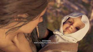 Mange spilfans var begejstrede for 'Assassin's Creed: Odyssey's seksuelle frihed. Men i det netop tilføjede handlingsforløb, kan man ikke undgå at få et barn og komme i et forhold med enten en mand eller kvinde. Uanset hvilket køn på hovedpersonen man har valgt.