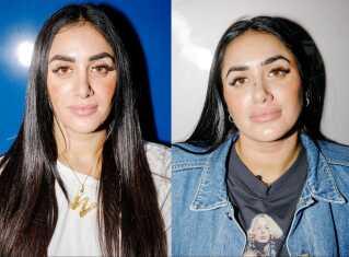De er enæggede tvillinger, og havde det ikke været for modermærket på Vitas næse, ville det have været svært at se forskel ved første øjekast.