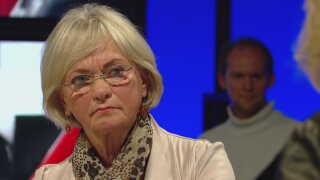 Pia Kjærsgaard i Debatten på DR2.