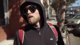 Vincent James O'Connor, inden dagens optagelser begynder i Berkeley.