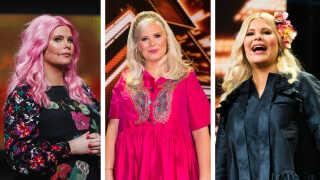 Sofie Lindes tre looks i årets X Factor-liveshows.