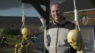 Bo Søgaard fra Løvel elsker Halloween.