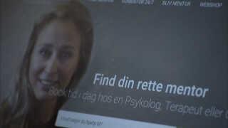 GoMentors forside på nettet.