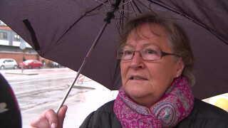 Ann Sode er chokeret over den voldsomme sag. Foto: DR