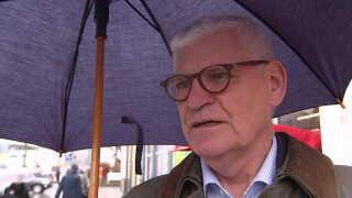 Gregers Kudsk undrer sig over, at politiet efter hans opfattelse først sent opdager, at der kan være tale om drab. Foto: DR