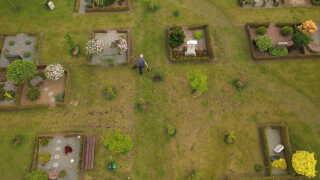 På Vester Hassing Kirkegård er der langt flere tomme pladser, end der var engang.