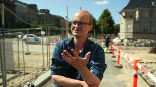 33-årige Robert Hnatiuk bor stadig i Danmark. Han håber hans fremtid er her og går til dansk-undervisning.