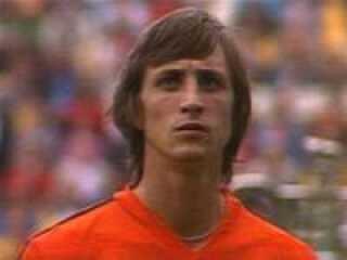 Johan Cruyff blev kåret til årets spiller i Europa i 1971, 1973 og 1974.