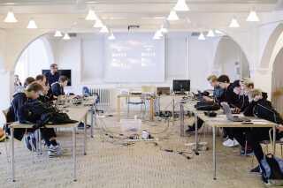 Den weekend-lange bootcamp på Marinestationen er den sidste træning inden afgangen til EM i London.