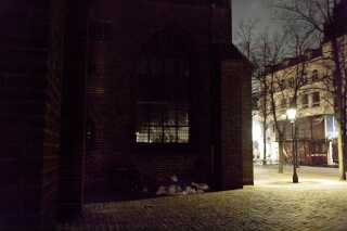 37a7605495a København i nattefrost - hvor putter de hjemløse sig egentlig henne ...