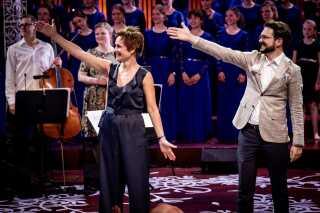 DR Pigekoret blev anført af chefdirigent Phillip Faber, mens DR Børnekoret var under ledelse af Susanne Wendt. Foto: Kim Matthäi Leland.