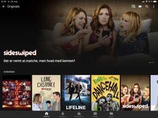 Serier produceret for YouTube er en del af YouTube Premium.