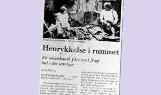 """Jyllands-Postens kalder filmen for """"en flugt ind i det utrolige""""."""
