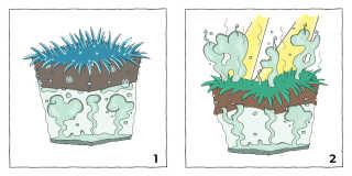 Metangas er cirka 20 gange kraftigere end CO2.
