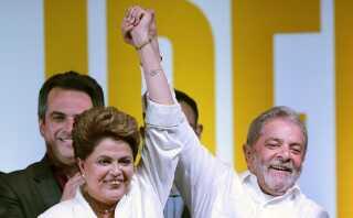 Mange opfatter Dilma Rousseff som en marionet for Lula da Silva.