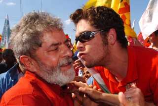 Lula da Silva (tv) nød stor popularitet som Brasiliens præsident.