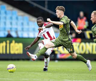 19-årige Andreas Skov Olsen var en af de teenagere, der for alvor markerede sig for FC Nordsjælland i sidste sæson. Han scorede 22 gange.