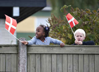 En del skoler i udsatte boligområder har meldt sig til at være prøvekaniner på sprogprøver i 0. klasse. (Foto: Henning Bagger/Ritzau Scanpix)