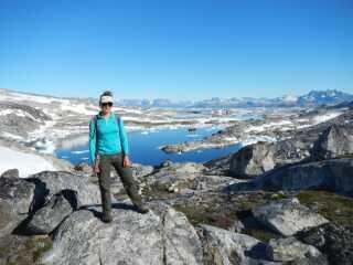 For den amerikanske geolog, Laura Levy, var det en stor mulighed at komme med på det danske projekt.