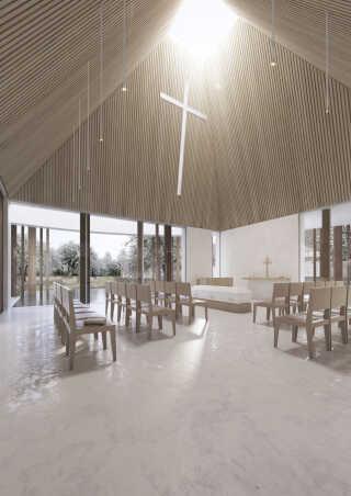 Med det nye budget må kirken blandt andet spare på de planlagte stole.