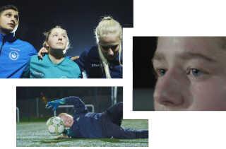 Man kan ikke være 100 procent til stede flere steder. Det har Thea lært på den hårde måde, efter hun i 2. g. fik et angstanfald. I dag vælger hun derfor at fokusere på fodbolden.