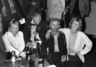 Her ses Gasolin i 1982, hvor de for en stund blev gendannet.