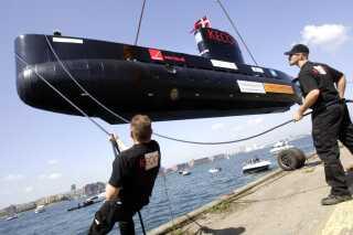 Peter Madsen, der er ingeniør, raket og u-bådsbygger, søsatte verdens største privatbyggede ubåd UC3 Nautilus på Refshaleøen i 2008 (arkivfoto).