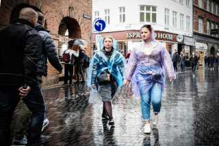 København i én af de mange majbyger.