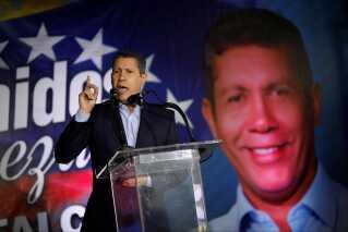 """Den venezuelanske præsidentkandidat, Henri Falcón, var en af Hugo Chavez' tidligere støtter, men har nu med partiet """"Avanzada Progresista"""", Progressivt Fremskridt, skiftet kurs."""