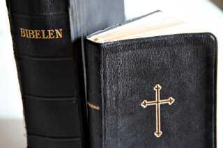 """Med reformationen vendte man tilbage til """"ordet""""."""