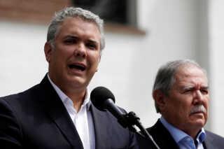 Colombia's præsident, Ivan Duque, afbrød en rejse for at håndtere krisen.