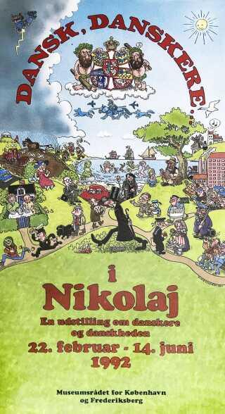 Originalen fra 1992 er tegnet af tegneserietegneren Claus Deleuran. Han stod desuden bag illustrering af Danmarkshistorien i 'Danmarks-Historie for Folket' og ikke mindst fortællingen 'Rejsen til Saturn', der i 2008 også udkom som animationsfilm.