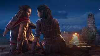I 'Assassins Creed: Odyssey' spiller romantik og seksualitet en stor rolle.