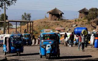 Et arkivfoto fra delstaten Amhara i Etiopien.
