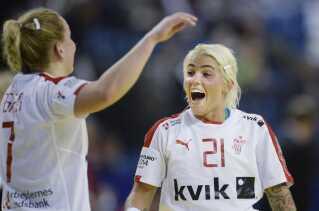 """Kristina """"Mulle"""" Kristiansen har imponeret for sin klub Nykøbing Falster Håndboldklub i denne sæson, og hun ser skarp ud forud for VM i Herning til december."""