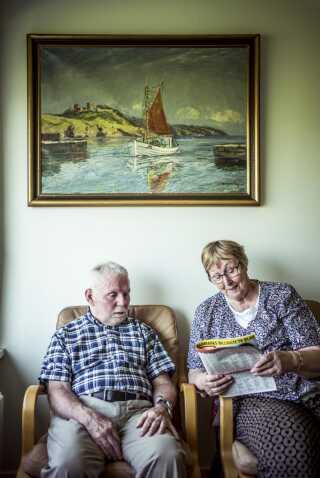 Thorkild Rask og hans hustru Edith Vildfang