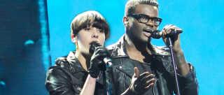 Thomas Blachman satte i sæson fem i X Factor de to solister Jean Michel og Nicoline Simone sammen til stor glæde for både dommere og seere.