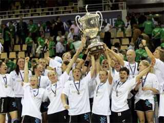 Champions League-mestrene 2006 fra Viborg HK.