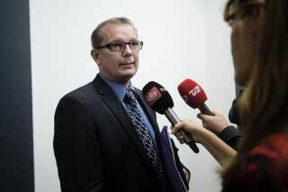 Dansk Folkepartis Hans Christian Skibby påpeger, at Danske Banks undersøgelse er bestilt af banken selv.