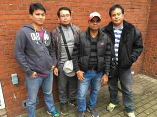 Christy Manoj, Marlon Maninang og Reynante Arceo har alle kørt lastbil for Kurt Beier og boet i den slumlignende lejr i Padborg. Til DR har de forklaret, at de blev lovet bolig, sygesikring og eget bad.