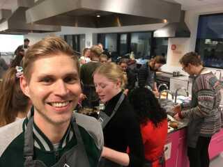 Jonas Krogh Nørdam er glad for opbakningen til projektet.