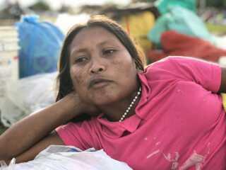 Mange migranter fra Venezuela lever på gaden, imens de venter på at lykken tilsmiler dem i Brasilien.