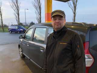 Som alting ser ud nu, så er vi nødt til at blive påvirket til at køre noget mindre eller mere fornuftigt, siger Christoffer Hartman Veng.