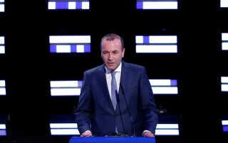 Manfred Weber kæmper for at blive den næste kommissionsformand.