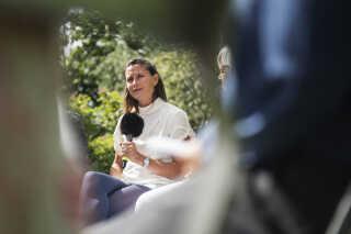 Udlændingeordfører for Alternativet, Carolina Magdalena Maier, ønsker grundlæggende at få børnene ud af Udrejsecenter Sjælsmark