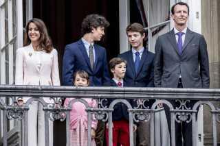 Prins Joachim og hans familie.